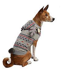Martha Stewart Pets Holiday Deer Knit Sweater Pet Holiday Dog Sweaters Martha Stewart Pets
