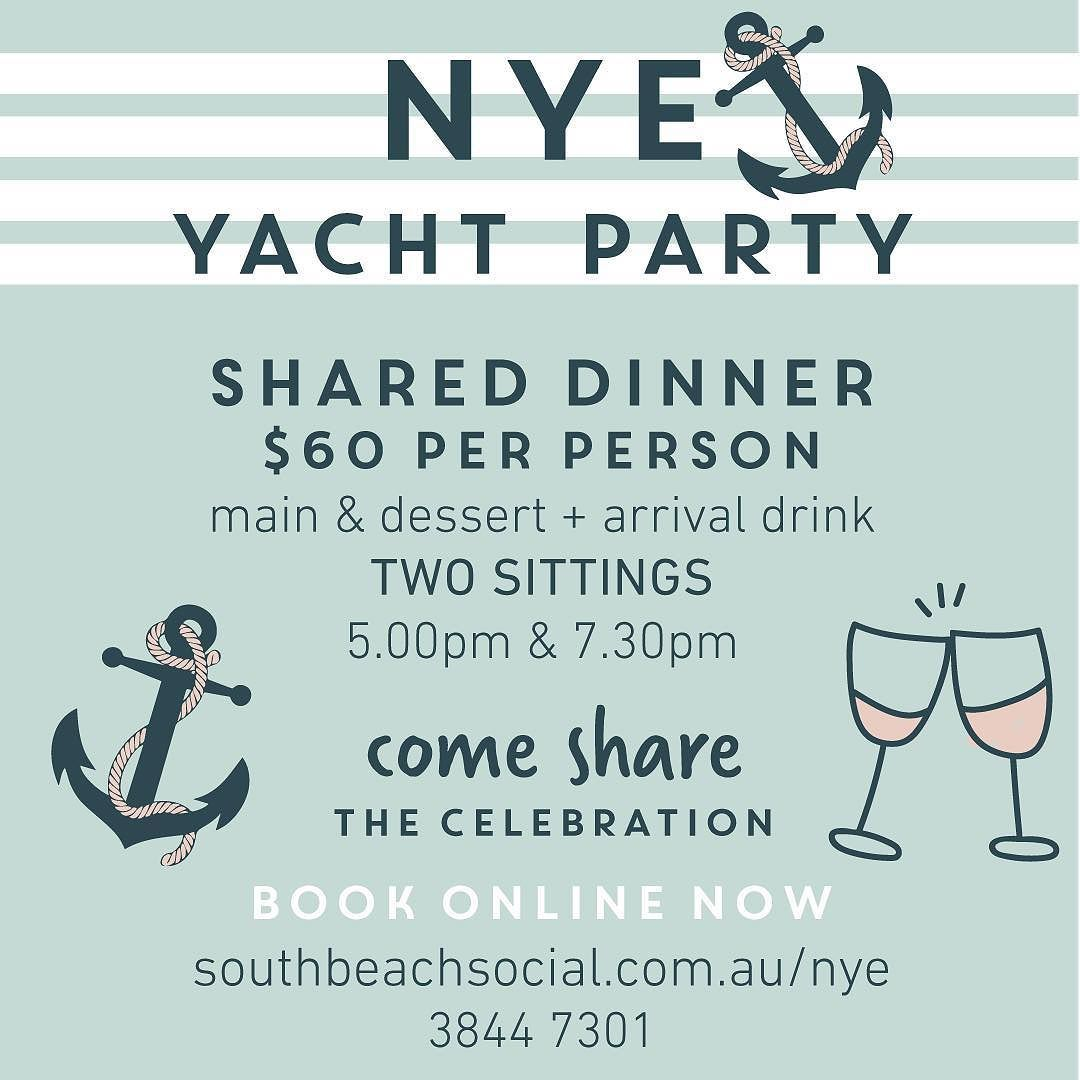 Start your New Years celebrations right with dinner