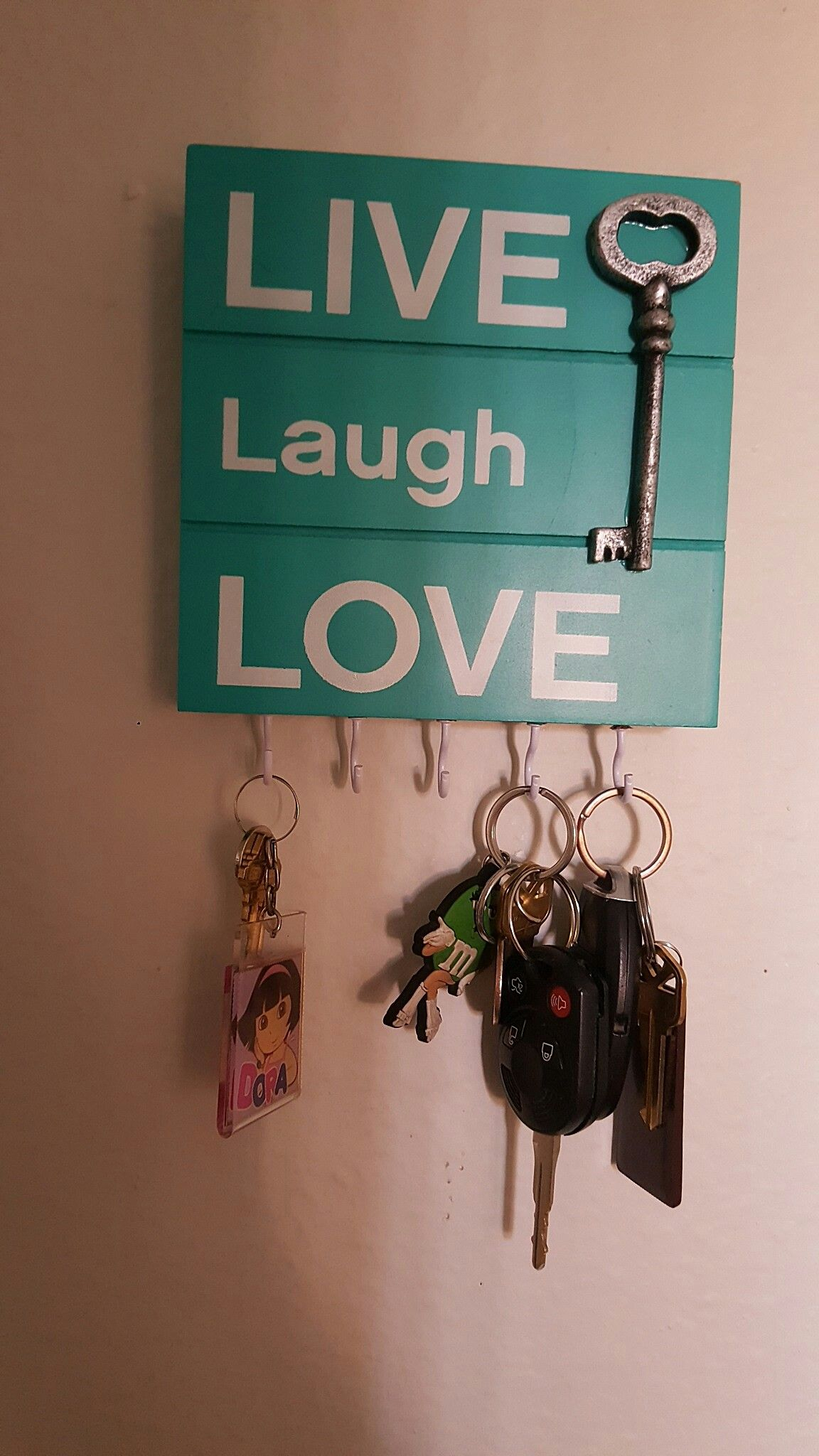 We made a key chain holder and it only cost 4.00