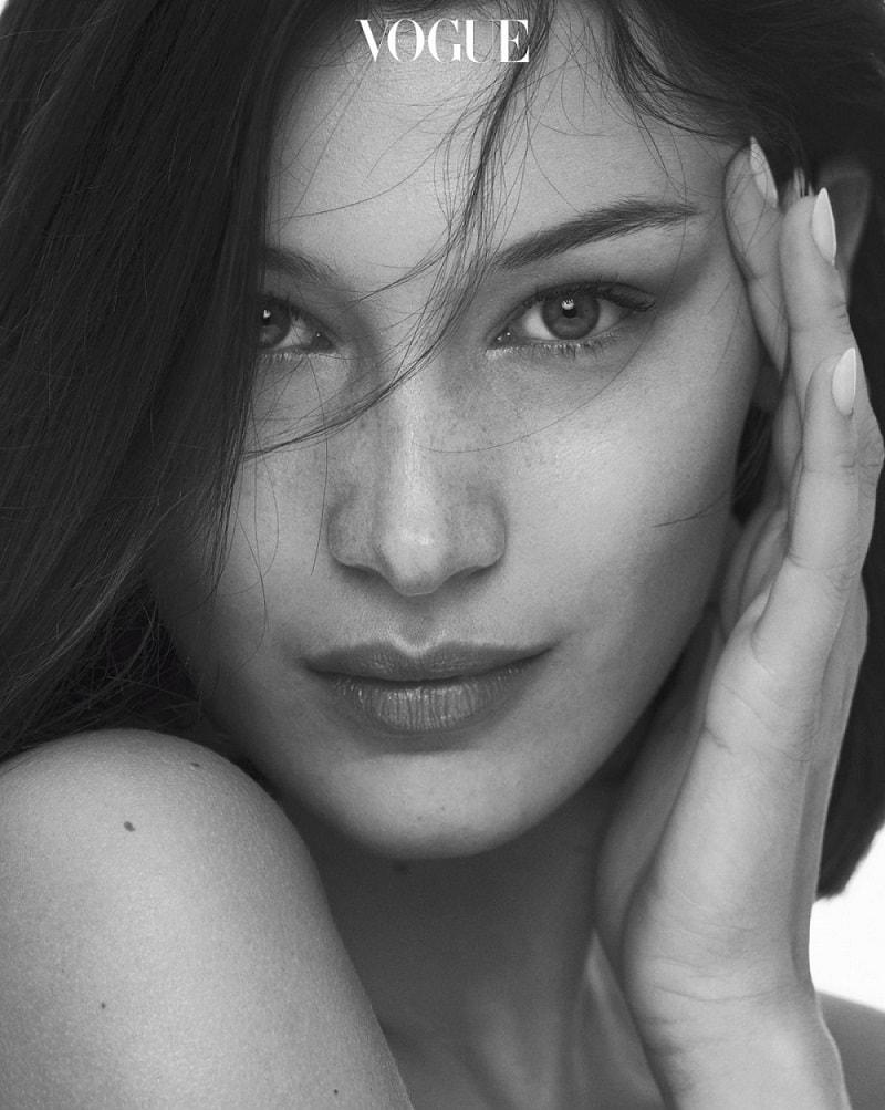 Bella Hadid Covers Vogue Korea January 2018 - Minimal. / Visual.