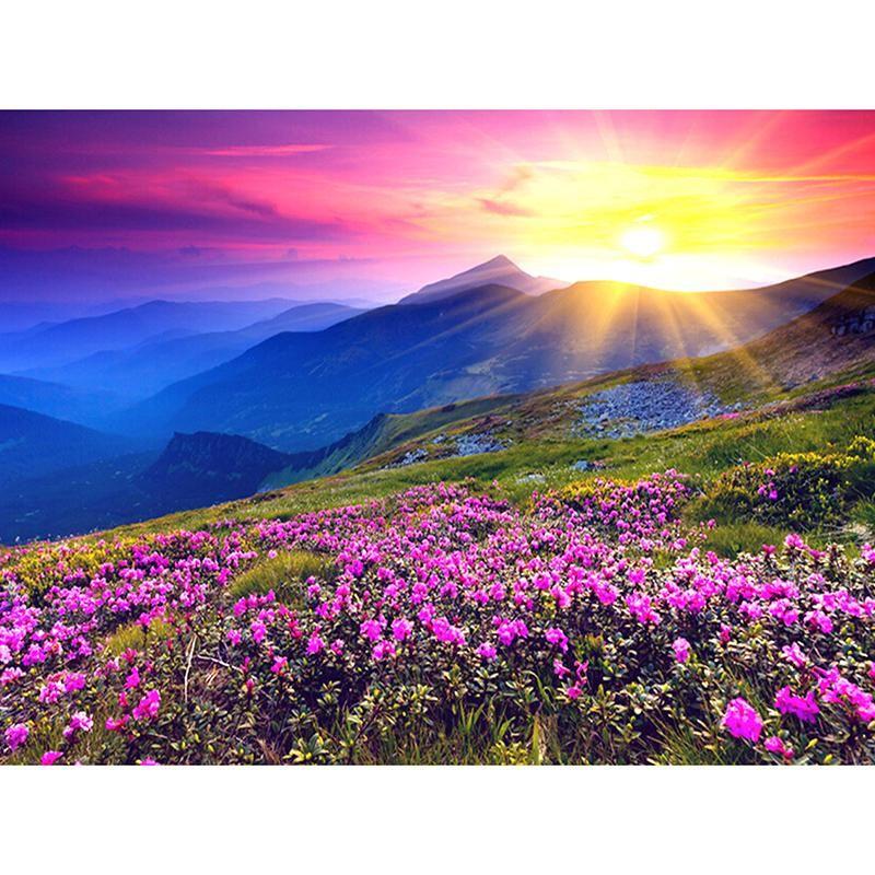 Mountain Sunrise Beautiful Landscapes Beautiful Nature Valley Of Flowers