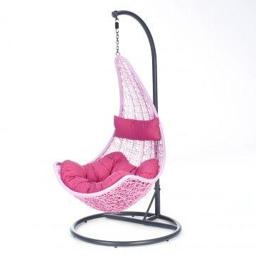 Intratuin Hang Schommelstoel.Intratuin Hangstoel In Standaard Roze Hangstoel Tuin