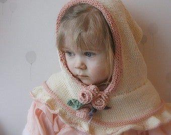 KNITTING PATTERN simple headband Nelly with crochet flower ( baby, child, woman sizes) #crochetedkitemsthatsell