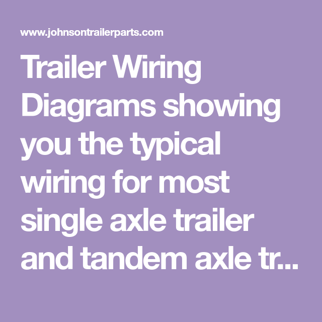 wiring diagram for tandem axle trailer wiring diagrams hubs Trailer Breakaway Wiring trailer wiring diagrams for single axle trailers and tandem axle tandem axle trailer parts trailer wiring