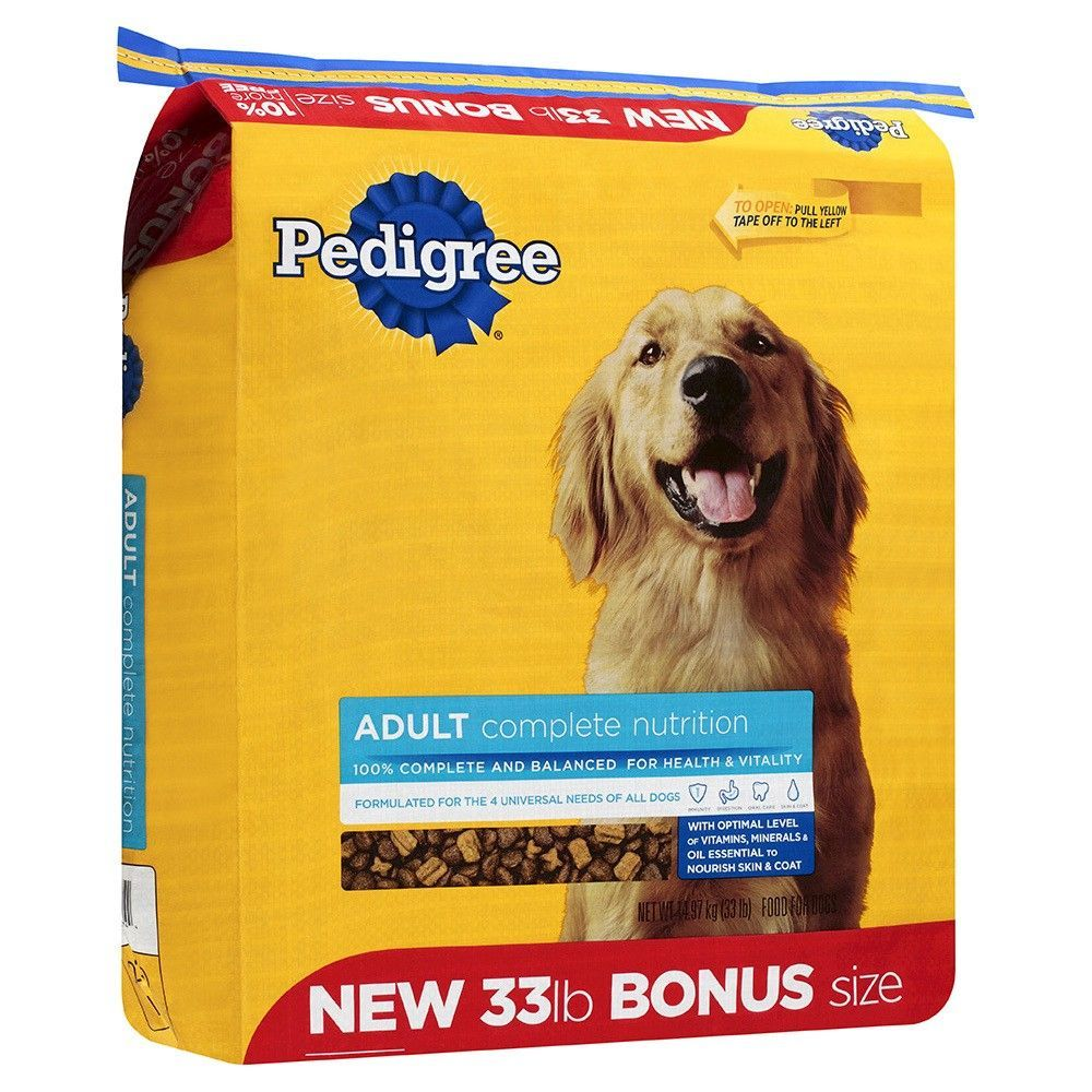 Pedigree Adult Complete Nutrition Dog Food Recipes Complete