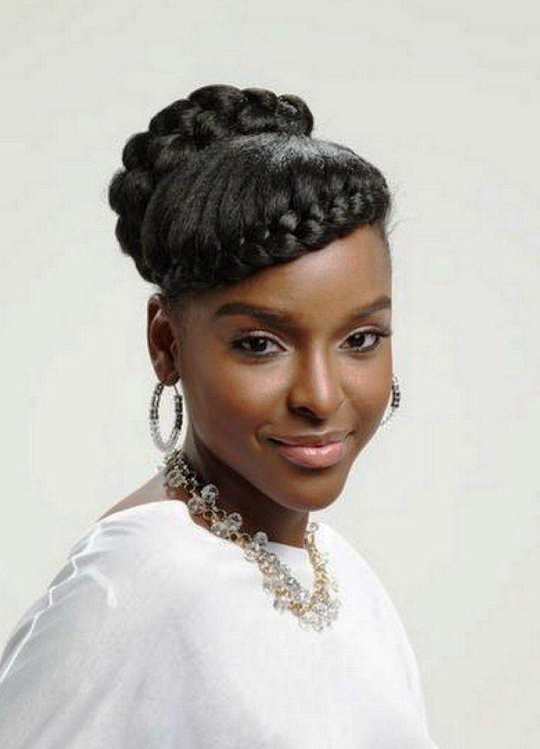 Black Braided Bun Hairstyles Braided Hairstyles For Black Women 2014 Braided Bun Hairstyles