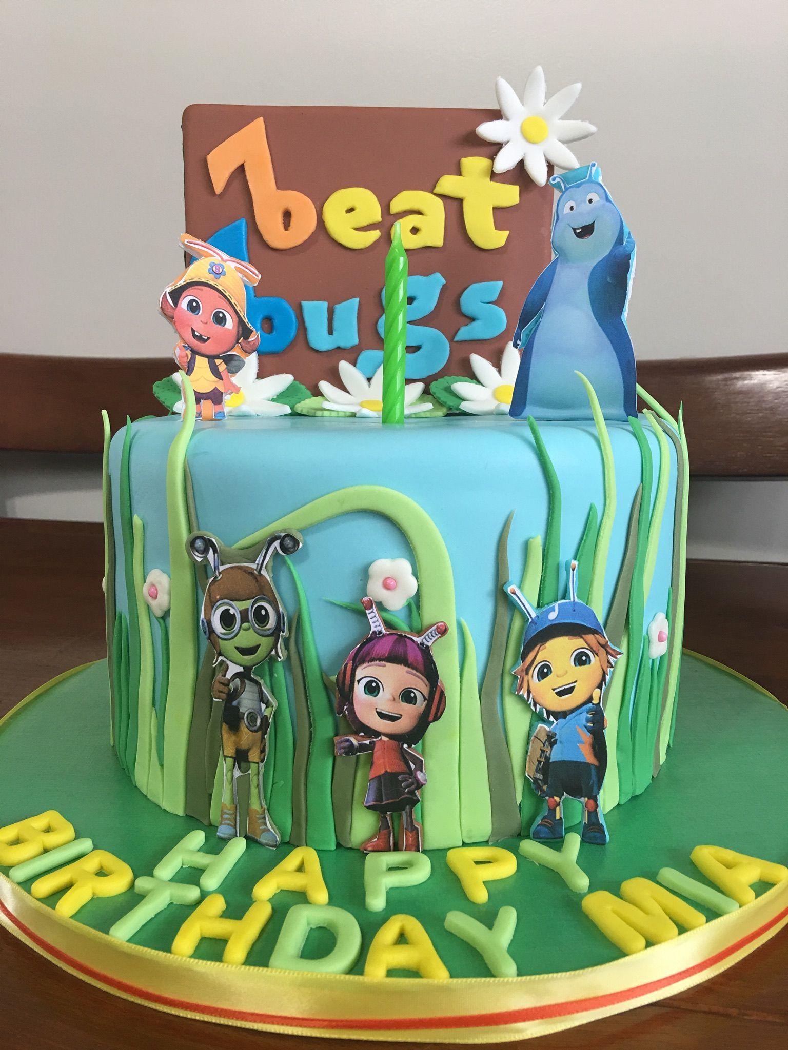 Beat Bugs Cake
