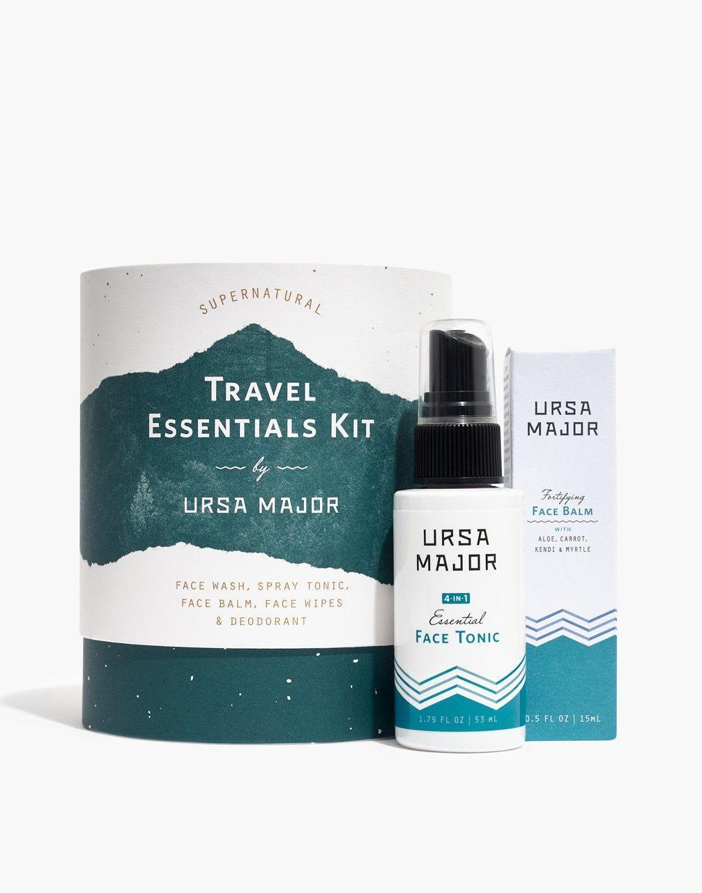 Ursa Major Traveler Skin Care Kit Skincarekit Madewell Ursa Major Traveler Skin Care Kit In Gift Set Size One S Skin Care Organic Skin Care Deodorant
