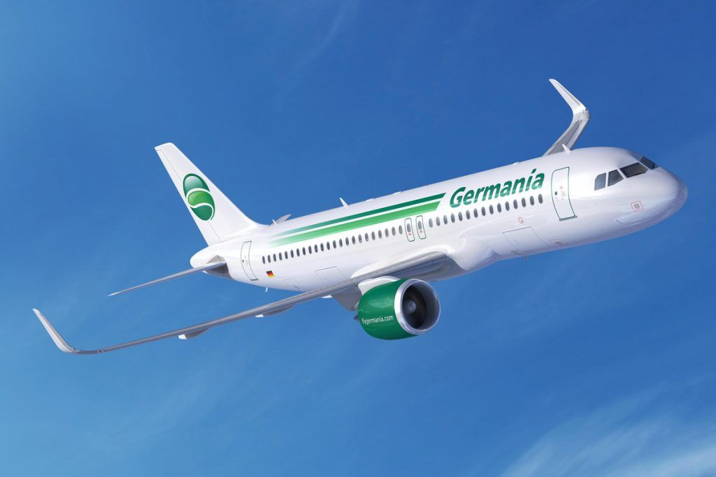 First Airline Casualty Of 2019 Germania Goes Bust Aircraft