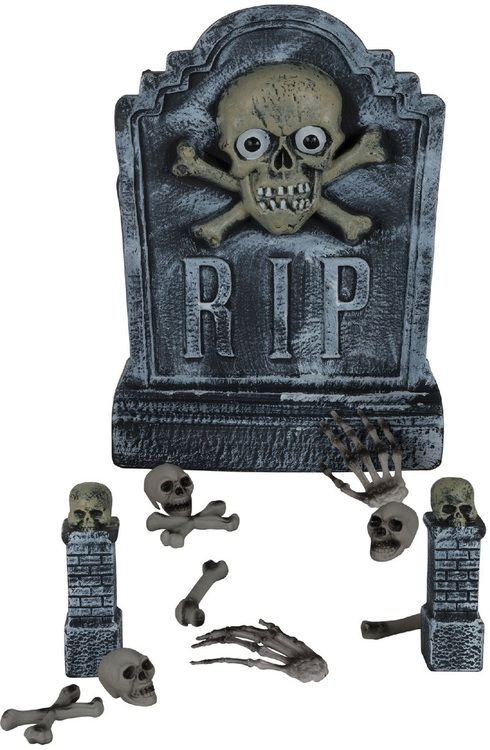 Grave Digger Halloween Decoration Prop Halloween Party  Craft