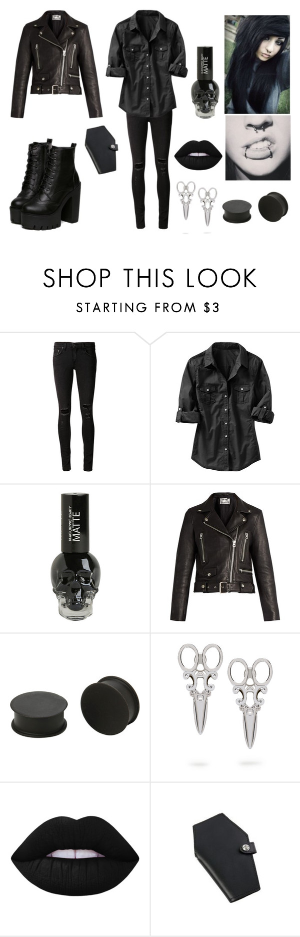 """""""#5"""" by mafromero ❤ liked on Polyvore featuring rag & bone/JEAN, Old Navy, Acne Studios and KAOS"""
