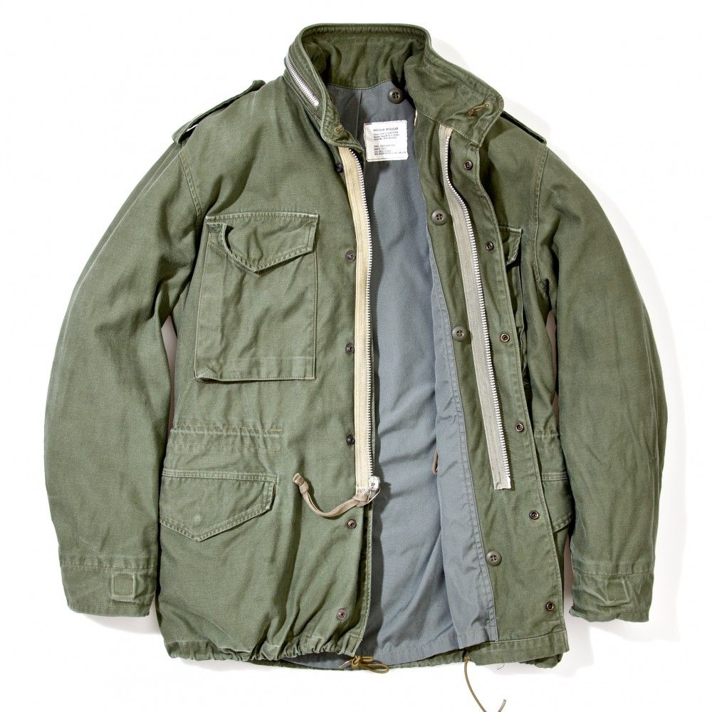 The Real McCoy's M 65 Field Jacket Olive RESTOCKED