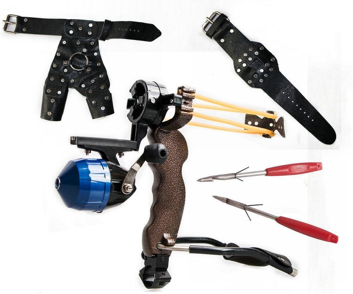 Slingshot Fishing Arrow Dart Protective Gloves Catapult