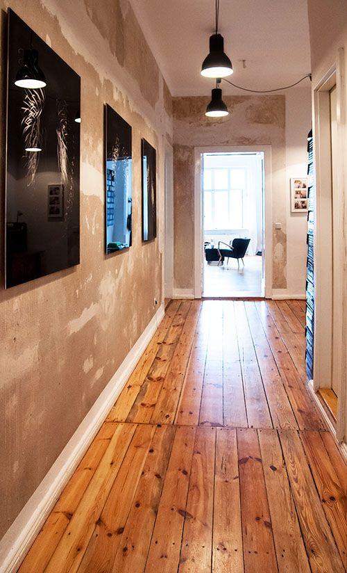 der flur im berliner altbau - Wandgestaltung Wohnzimmer Altbau