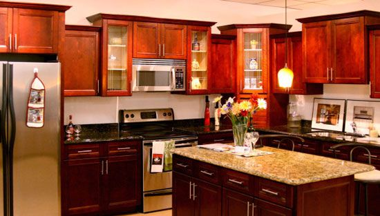 Kitchen Color Ideas With Maple Cabinets cherry maple color for kitchen painted cabinets | home | pinterest