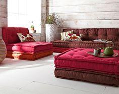 Divano Cuscini Trapuntati.Divani Materassi Floor Seating Floor Couch New Living Room