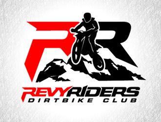 Revy Riders Dirtbike Club Logo Winner Moto Logo Design Abstract Logo Logo Design