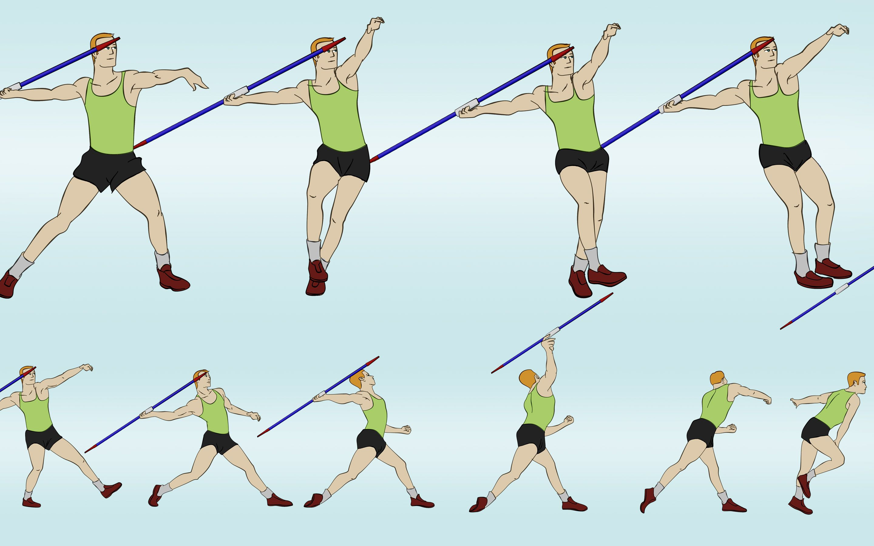 Javelin Throw Technique For Kids