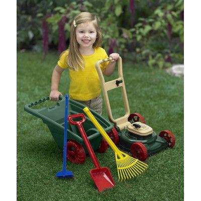 American Plastic Toys 6pc Gardener Set