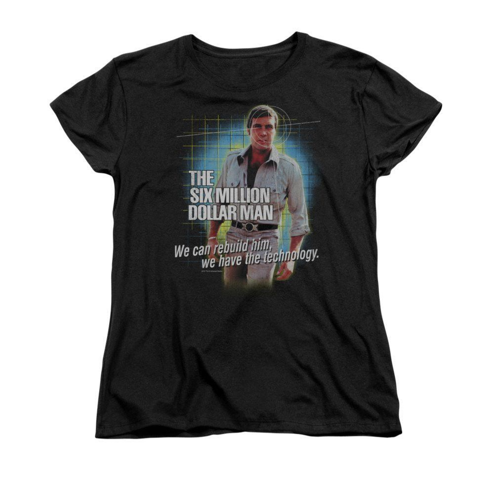 Six Million Dollar Man - Technology Women's T-Shirt