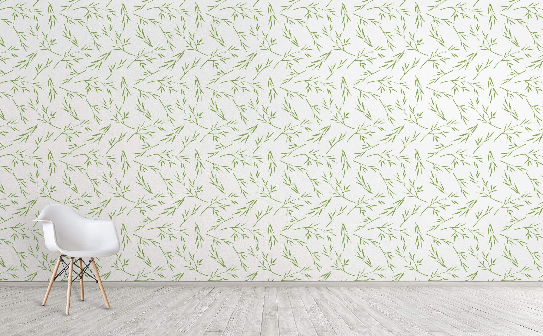 Tranquility Garden Zen Wallpaper Green Wallpaper Wallpaper