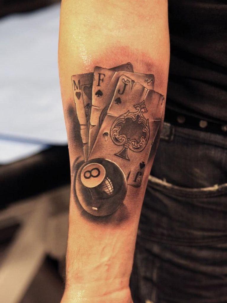 8 eight ball pool tattoo tattoo inspiration pinterest rh pinterest com billard tattoos billiard ball tattoos