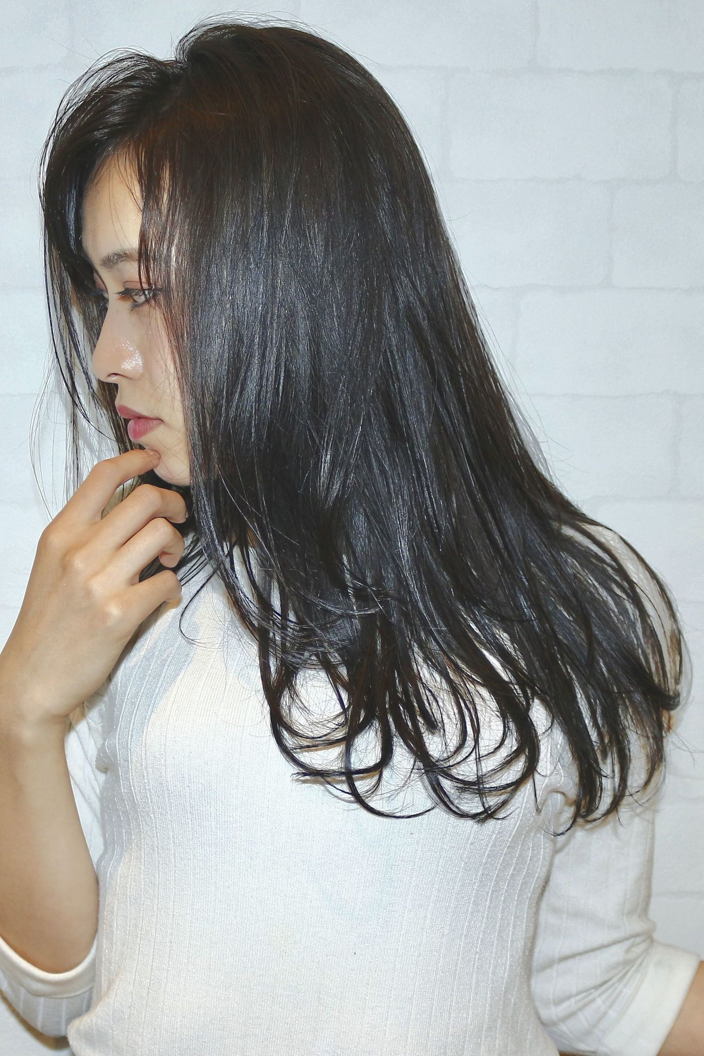 New The 10 Best Hairstyles With Pictures 韓国女子風のネイビー