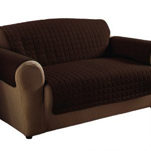 Black Leather Couch Arm Covers
