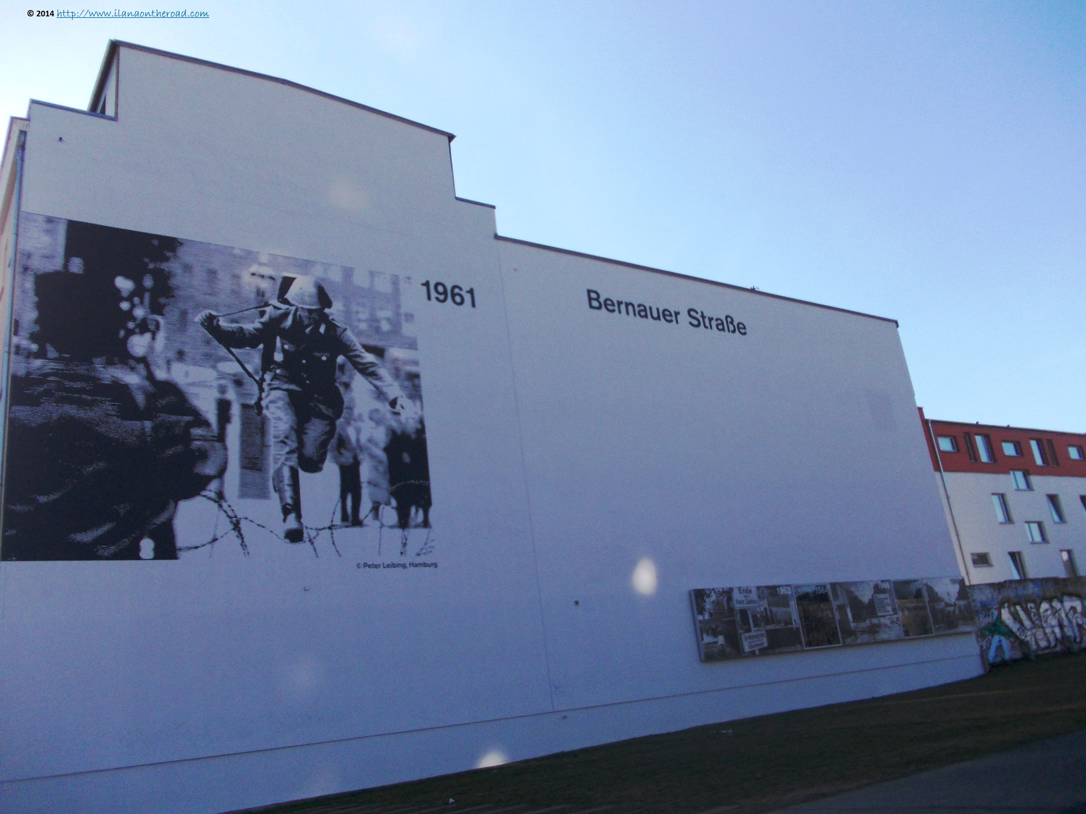 Memories of the wall, on Bernauerstrasse