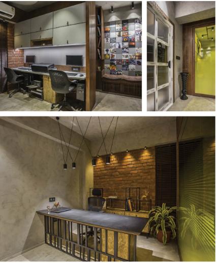 Office Reception Desk Worke Workstation Decor Architectural Studio Interior Design