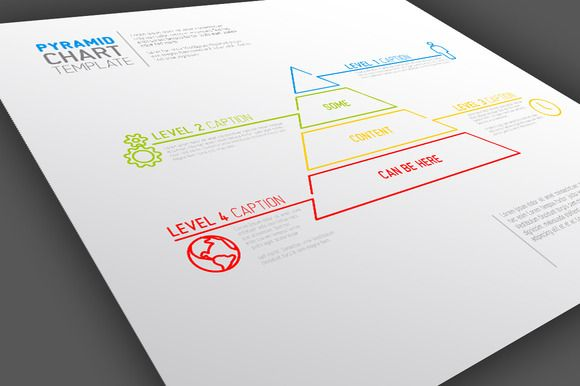 Infographic Template Pyramid Chart  Infographic Templates