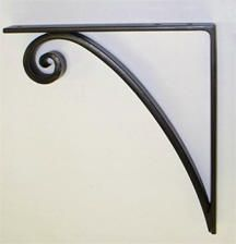 wrought iron shelf brackets and decorative corbels 3 new. Black Bedroom Furniture Sets. Home Design Ideas