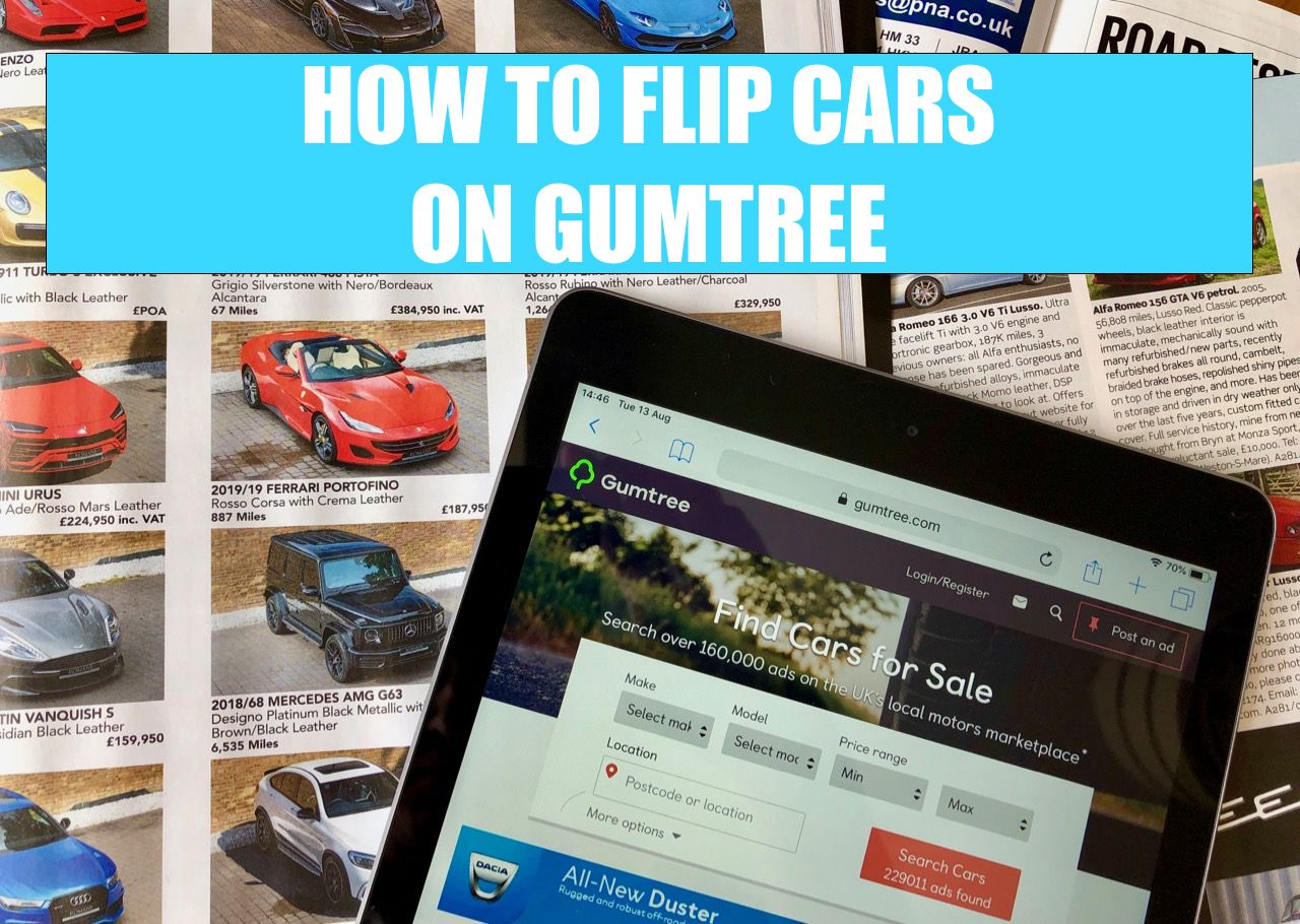 Pin on FLIPPING CARS ON GUMTREE Making money flipping cars
