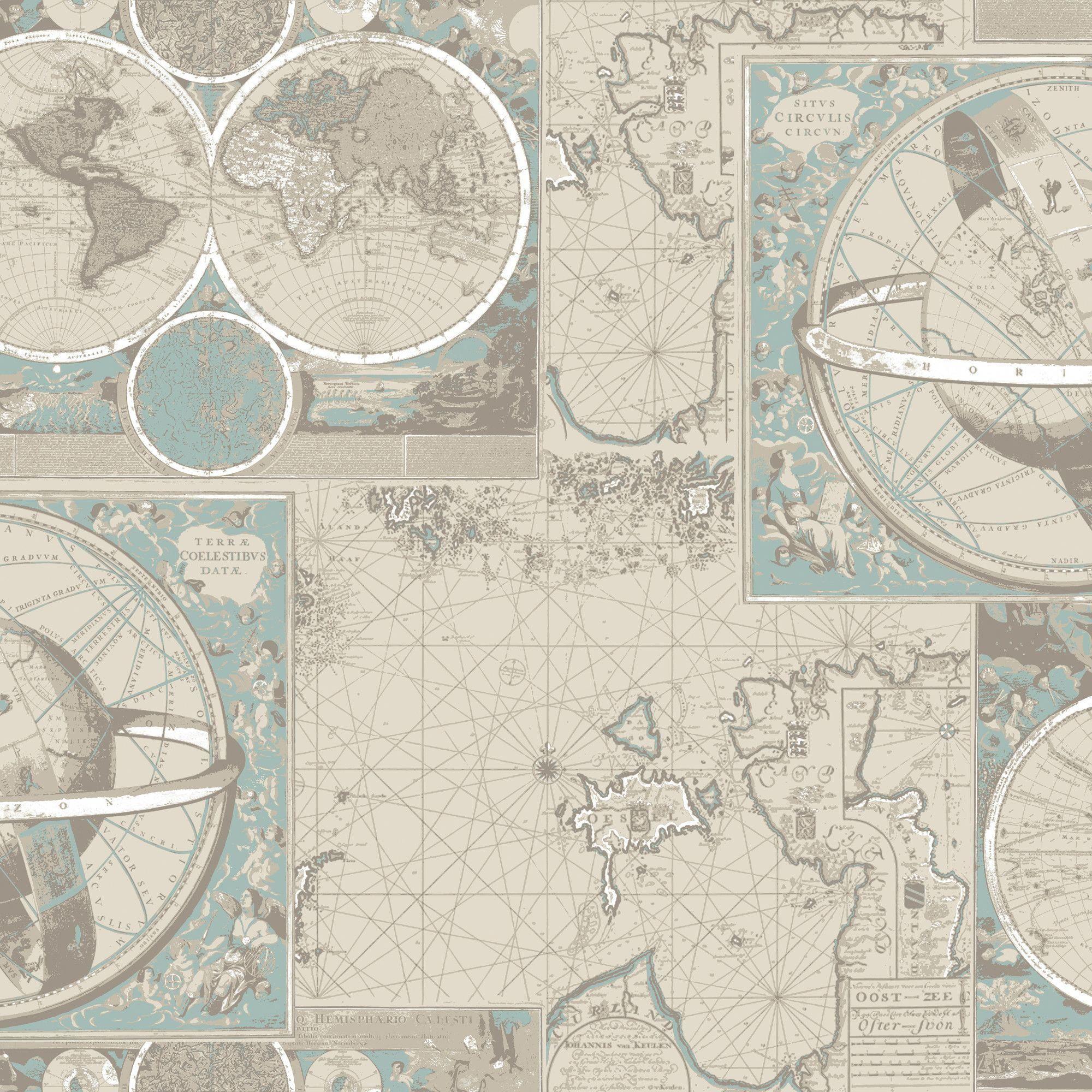 Kompassi Kartta Wallpaper Wayfair Uk Carpetsinhouston