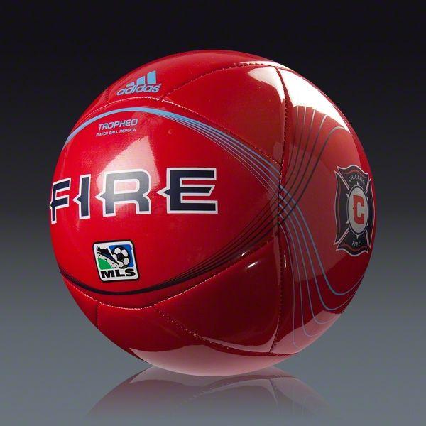 huge selection of 17cd9 74d7b adidas 2012 Chicago Fire Tropheo Ball || SOCCER.COM | Soccer ...