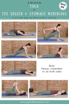 best yin yoga poses for the spleen  stomach meridians