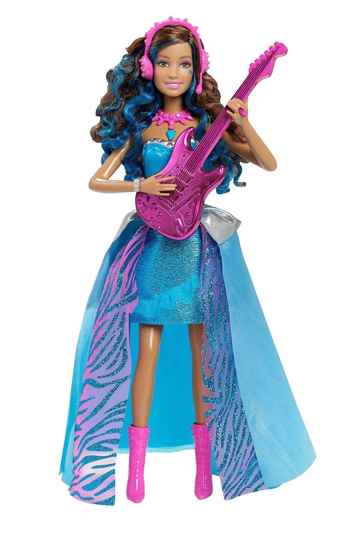Amazonsmile barbie in rock n royals singing erika doll