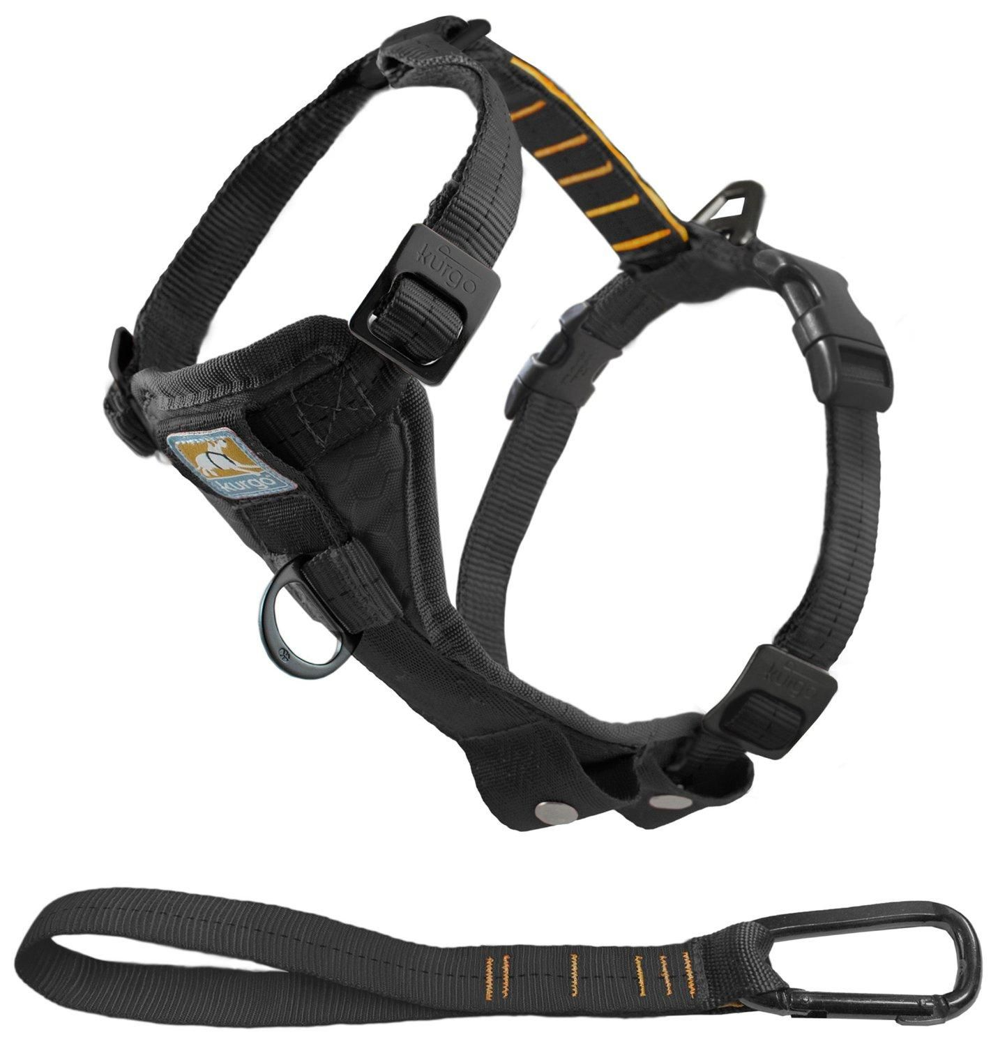 Pierre Leather Dog Harness Black Dog Harness Dog Accessories