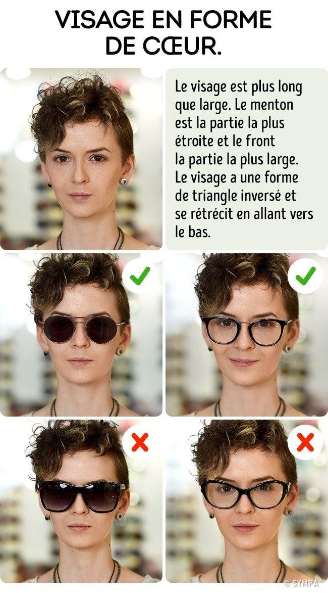 9853d839e8 Comment choisir les lunettes de soleil selon la forme de ton visage ...