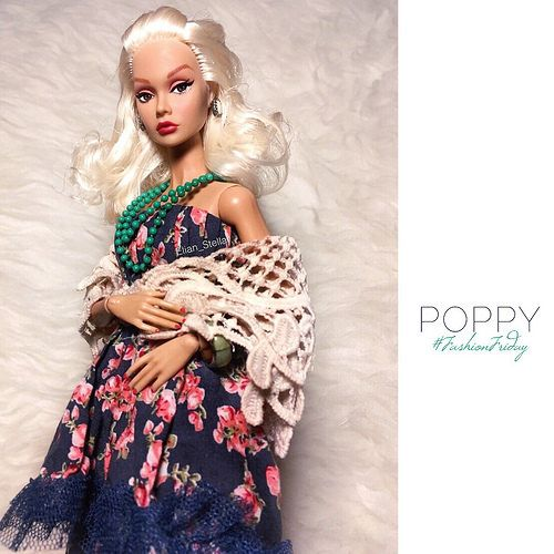 Poppy Parker for #FashionFriday wearing #ELIDA | by Elian Stellar