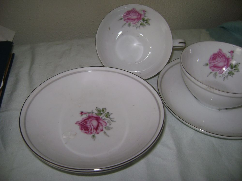 Fine China Replacements Fine China of Japan Imperial Rose 6702 Japan #FineChinaofJapan & Fine China Replacements Fine China of Japan Imperial Rose 6702 Japan ...