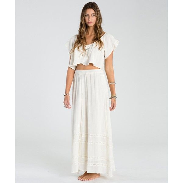 1885ed469c Billabong Women's Festival Sol Maxi Skirt ($60) ❤ liked on Polyvore  featuring skirts, cool wip, billabong skirt, multi colored maxi skirt,  billabong, ...