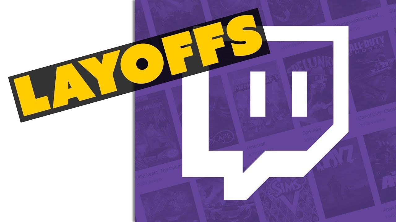 LAYOFFS at Twitch - Game News