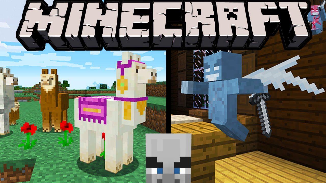 Minecraft 1 11 Exploration Update: Llamas Spit, Evil Villagers, Vex
