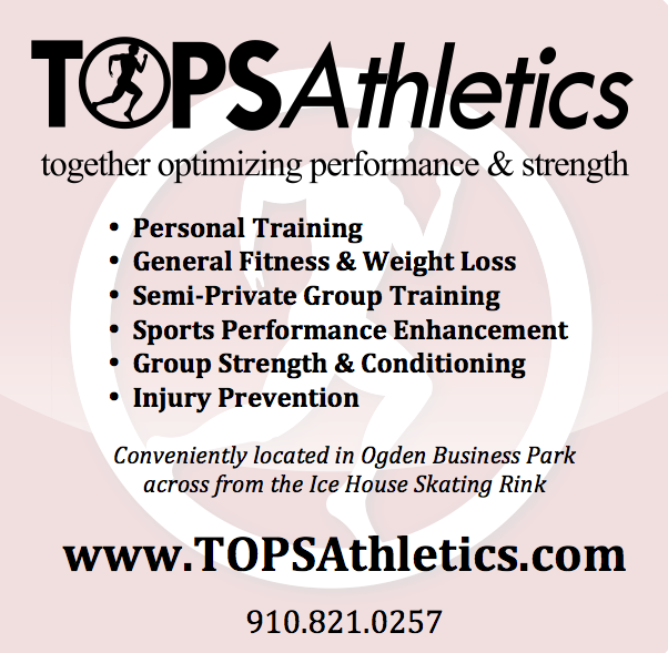 TOPS Athletics is a general fitness, strength & conditioning, sports performance enhancement, injury prevention, & weight loss facility located in the Ogden area of Wilmington. We offer Personal Training and Group Strength & Conditioning services. Our in-house clinical metabolic testing company, Synergy ONE Wellness & Performance Lab, offers Resting Metabolic Rate (RMR), VO2submax, & VO2max testing services. Synergy ONE also offers personalized nutrition programs.