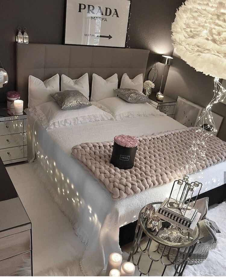 Pin By Craving Shay On Home Decor Bedroom Romantic Design Stylish