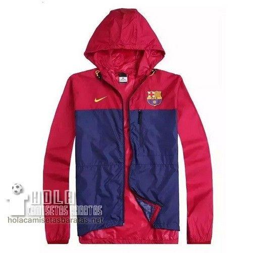 Nike Chaqueta Rompevientos Azul Marino Rojo Barcelona €38.9 ... 063b9c0eca1a7