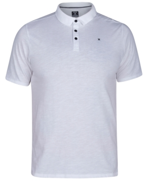 646b7e376 Men's Dri-FIT Polo Shirt   Products   Hurley, Polo shirt white, Polo ...