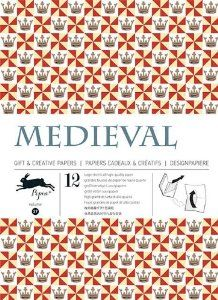 Medieval Gift Wrapping Paper Pepin Van Roojen 9789460090493 Amazon Com Books Paper Book Book Crafts Medieval