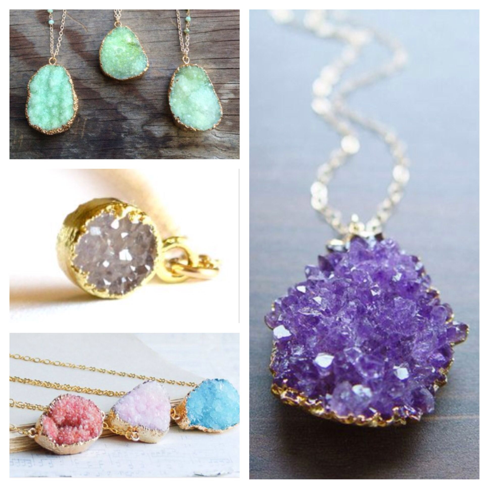 I love these necklaces!